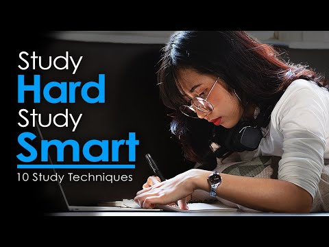 Study HARD Study SMART - 10 Ways To Study Like A MEDICAL STUDENT