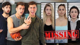 Girlfriends Pretend to go MISSING! (REVENGE PRANK)