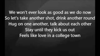 Luke Bryan - Love in a College Town with Lyrics