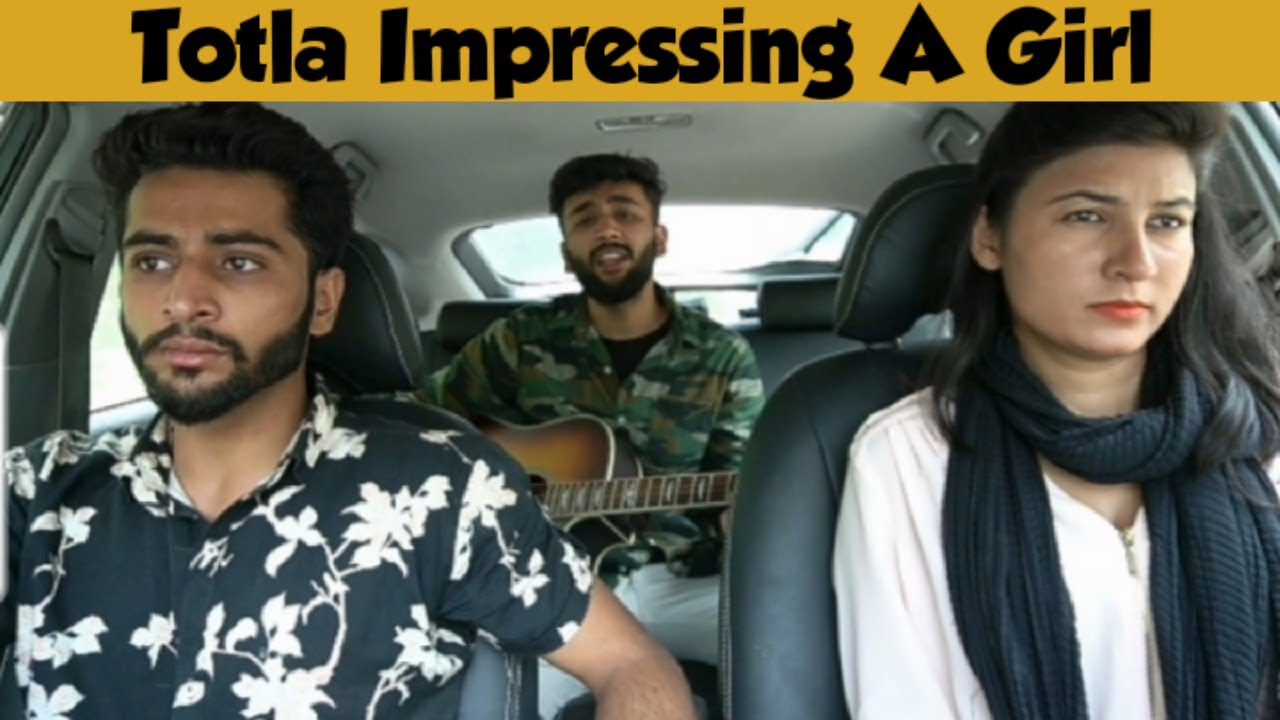 Totla Impressing A Girl With Singing In Uber Part 5   Reaction Video   Anas Rajput