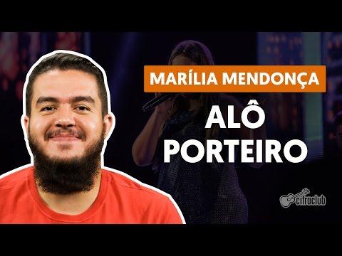 Alô Porteiro - Marlia Mendonça (simpliflied guitar lesson)