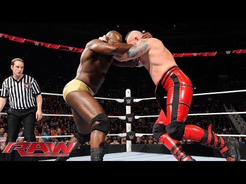 Henry, Titus O'Neil, R-Truth & Neville vs. Breeze, Stardust & The Ascension: Raw, 18. Januar 2016