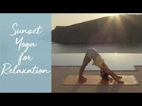 Sunset Yoga For Relaxation