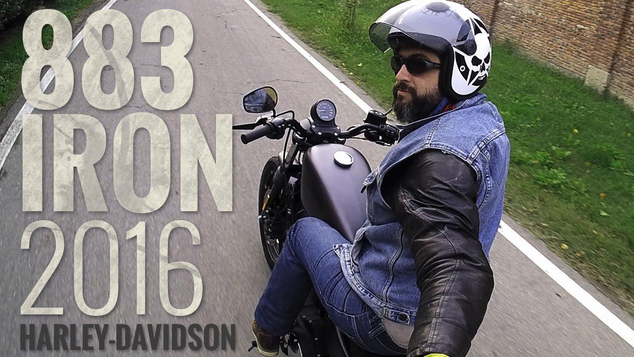Schema Elettrico Harley Davidson 883 : Iron harley davidson video prova motoreettomotoreetto