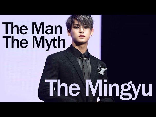 the man, the myth, The Mingyu