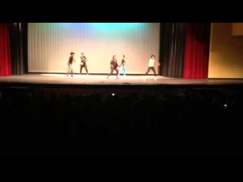 South Paulding High School Talent Show 2014 Dance Group