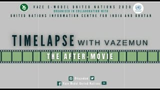 TIMELAPSE with Vaze MUN | The Aftermovie | Vaze Model United Nations' 20.
