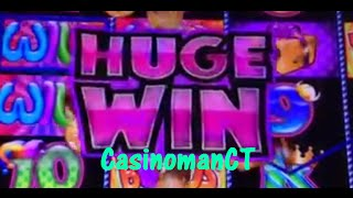 Slot Machine BIG Win Bonus on Pop