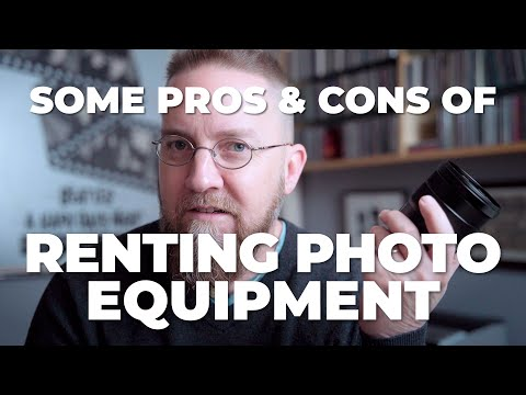 Some Pros And Cons Of Lens Rental