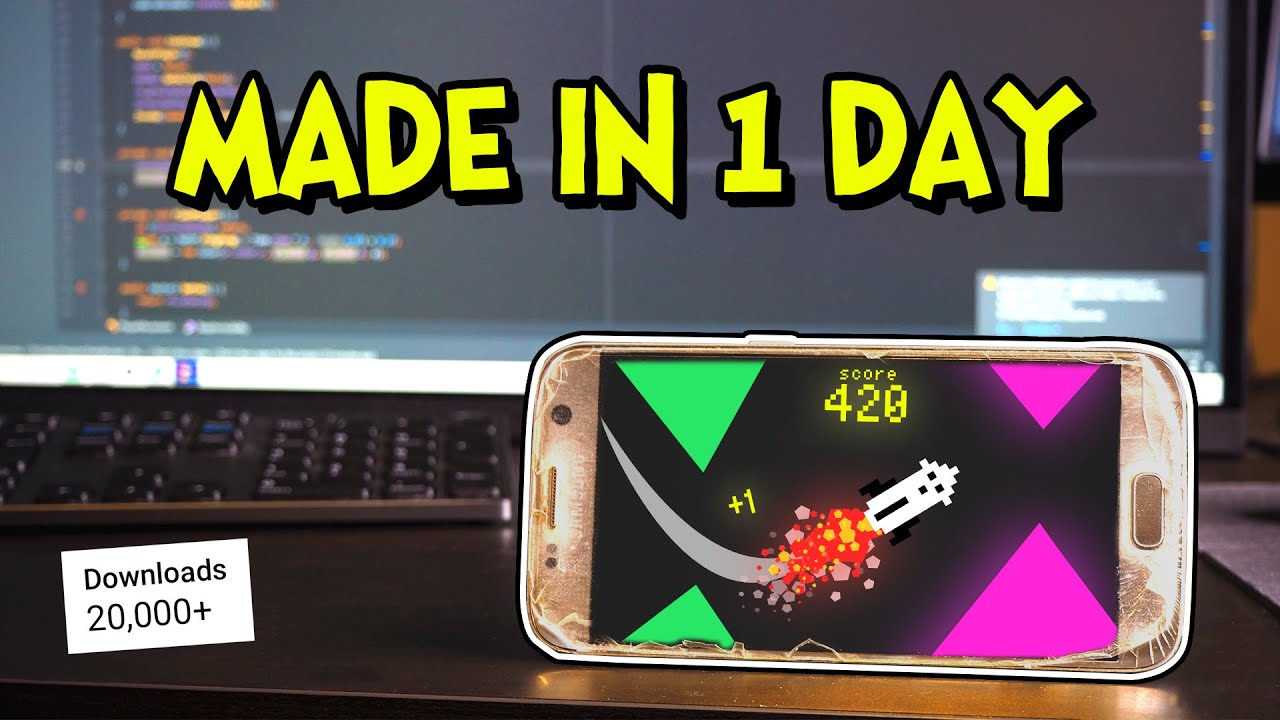 Download How I Made a Mobile Game in ONE Day!