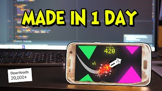 How I Made a Mobile Game in ONE Day!