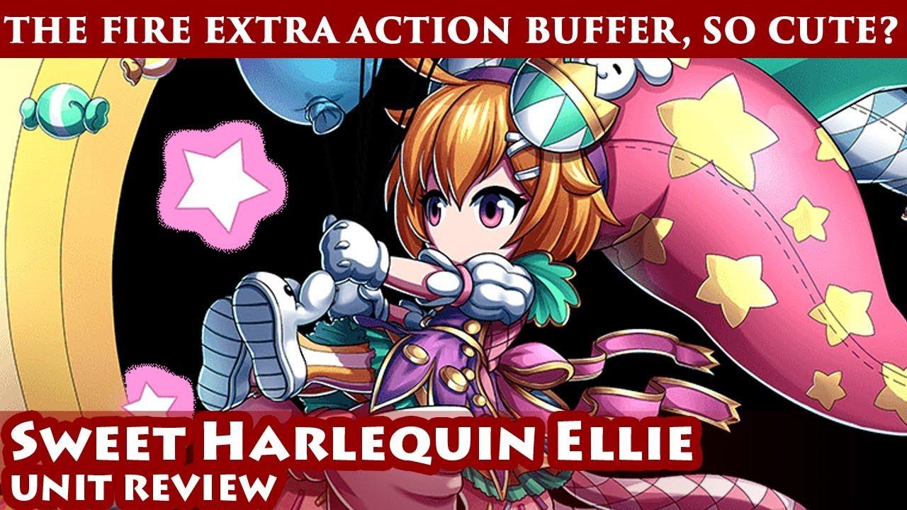 Sweet Harlequin Ellie Unit Review (Brave Frontier Global)
