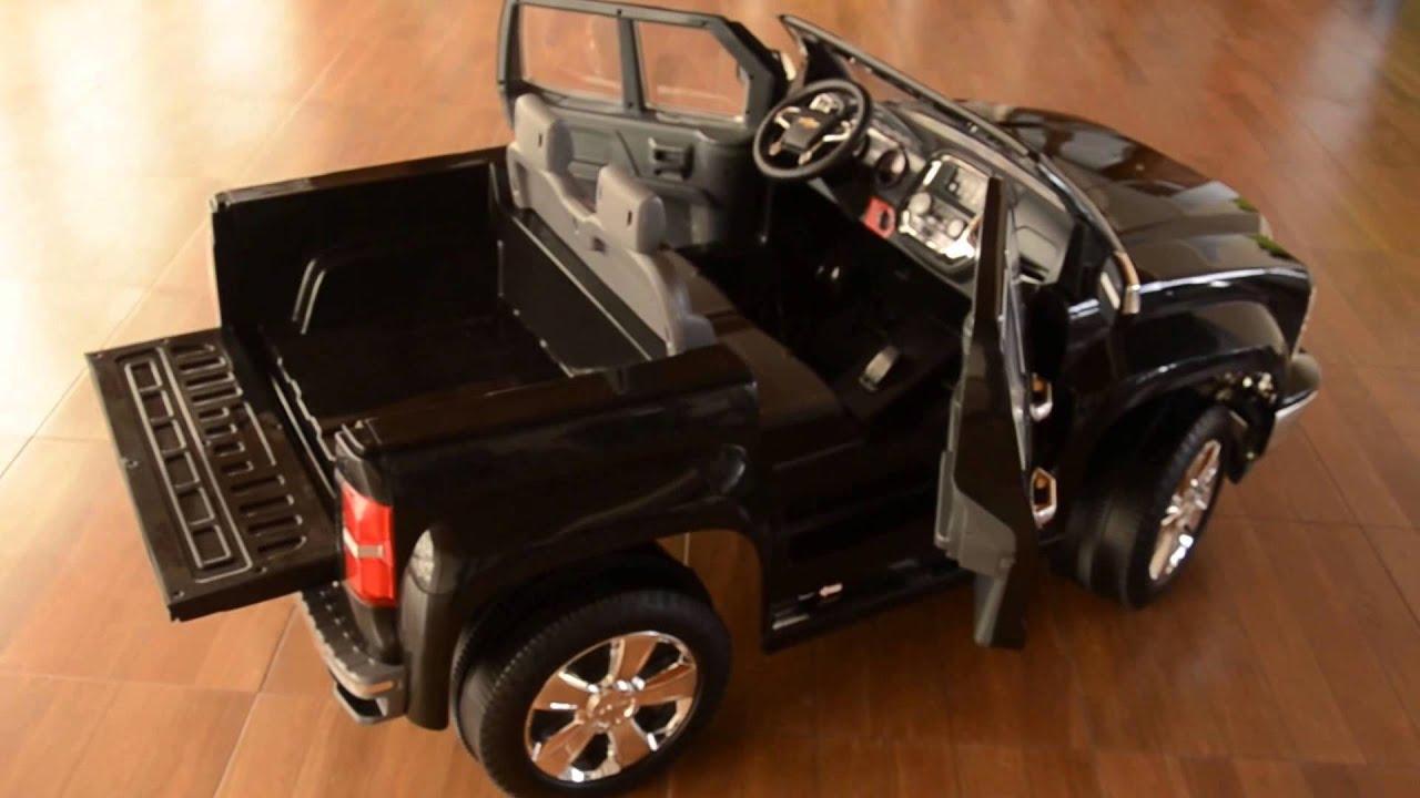 Camioneta eléctrica para niños Chevrolet Silverado - YouTube