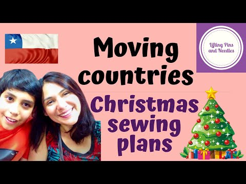 Leaving Bolivia, Chile bound! Christmas sewing plans.
