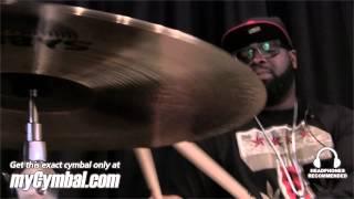 "Sabian 18"" Custom Shop HH Raw Bell Crash Cymbal - Played by Rex Hardy Jr. (SPT182-1103012R)"