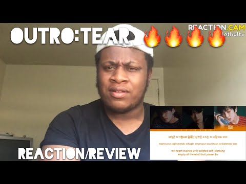 BTS (방탄소년단) 'OUTRO: TEAR' Lyrics [Color Coded Han|Rom|Eng] REACTION//New Favorite song🔥