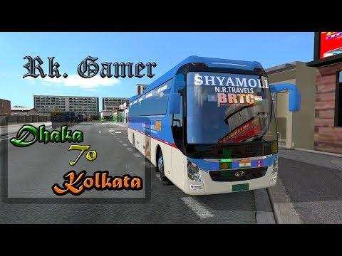 Euro truck Simulator 2    BD map    Dhka To Kolkata    Hyundai    Shyamoli