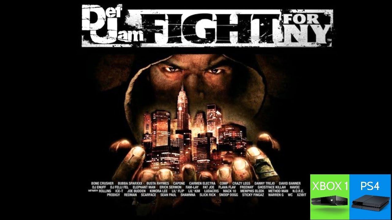 DEF JAM FFNY MOVIE (PS4 PRO 4K 60FPS JAILBREAK) - YouTube