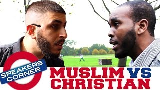 Ali Dawah vs Godwin | Muslim vs Christian | Speakers Corner