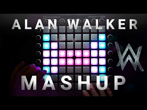Alan Walker Mashup | Launchpad Cover (Faded x SMTS x Alone x Tired) [UniPad Project File]