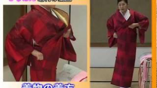 『きものん』着物の着方 小林亜紀子 検索動画 25
