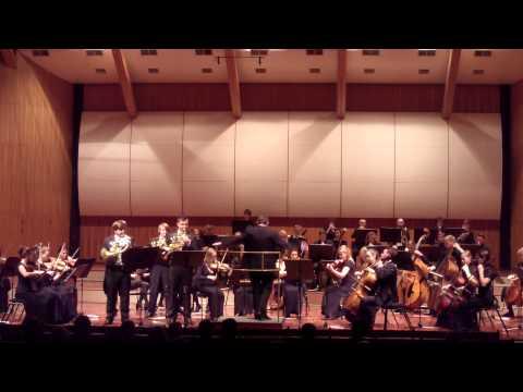 Robert Schumann, Konzertstück für 4 Hörner op.86 1st. movement