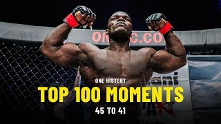 In the lead-up to our blockbuster 100th event, one: century, we're counting down best moments one championship history. today, we relive one's histori...