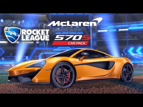 Rocket League - McLaren 570S Car Pack Official Trailer | The Game Awards 2018