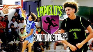 LaMelo Ball's ROAD TO HIS FIRST DUNK! How LaMelo Ball's Dunking Ability EVOLVED In 220 Days
