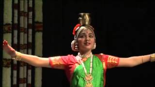 Kuchipudi Tarangam Plate and Pot dance by Anushka Roy, NY