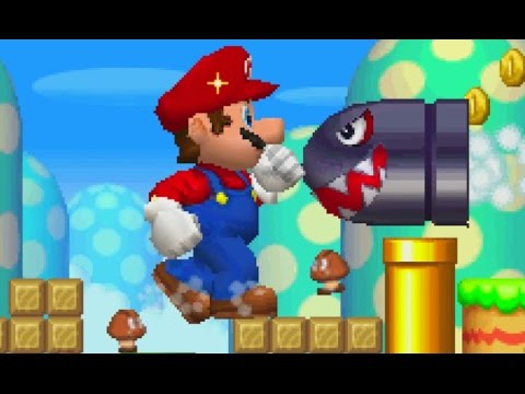 New Super Mario Bros. DS Walkthrough - World 7 (All Star Coins)