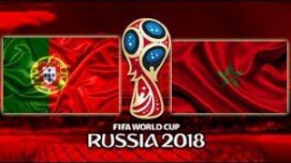 Portugal vs Marrocos - 2018 FIFA World Cup Russia