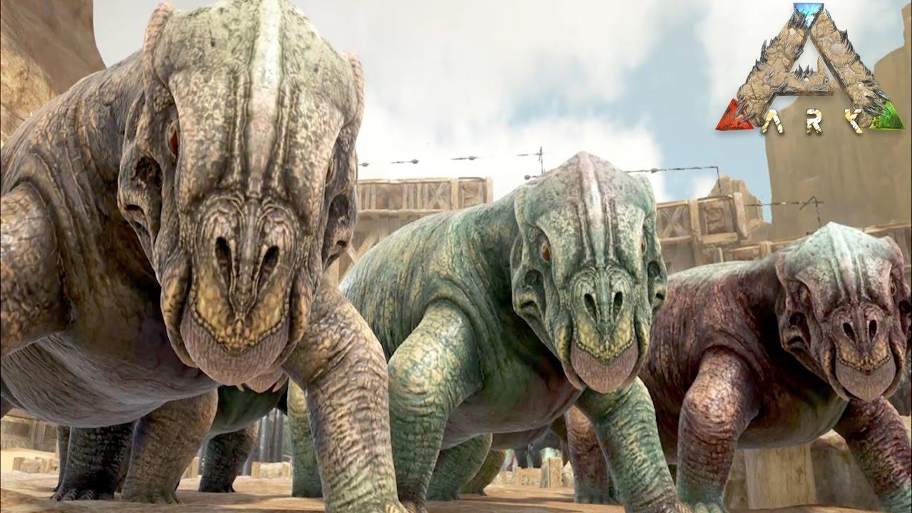 ムジュラの仮面を持つ恐竜リストロサウルステイム成功ark