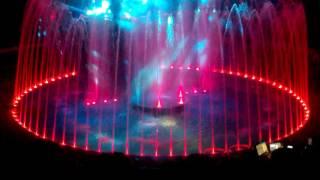 Самара, цирк на воде, шоу фонтанов, 12.11.2016
