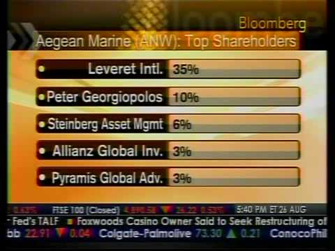 Spotlight - Aegean Marine Petroleum Network - Bloomberg