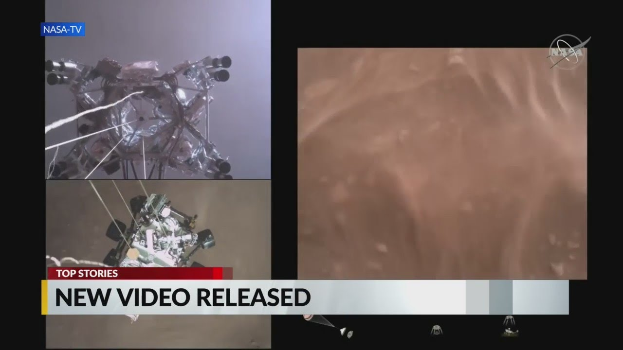 NASA releases new video from Mars Rover - CBS 17
