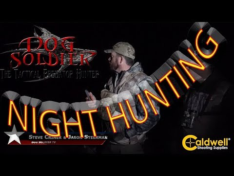 Colorado Night Hunting coyotes and foxes with the Optical Dynamics lights. The best predator hunting