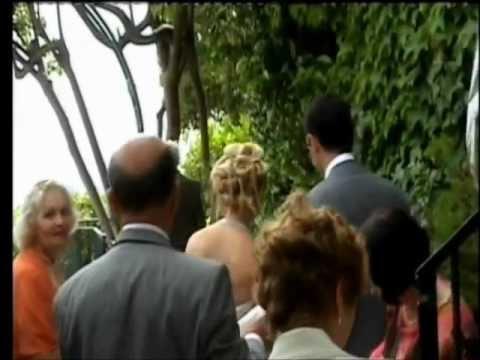 Wedding Ceremony in Eze- France, June 17, 2006
