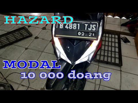 Cara pasang hazard / flasher touring di VARIO 125/150
