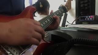 Poison - Every Rose Has Its Thorn (guitar solo cover)