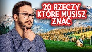 20 RZECZY Które Musisz Wiedzieć o Polsce