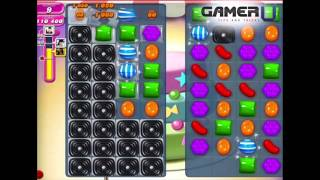 Candy Crush Saga - How to Beat Level 210 (with commentary)