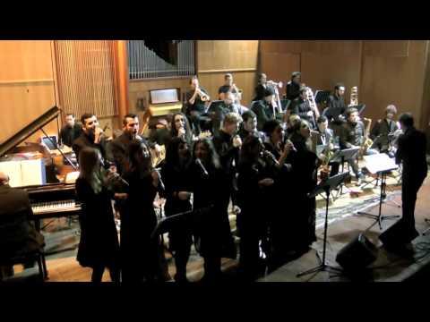 3- Contemporary Vocal Ensemble -Conservatorio  D'Annunzio di Pescara-Concerto di Natale 2013