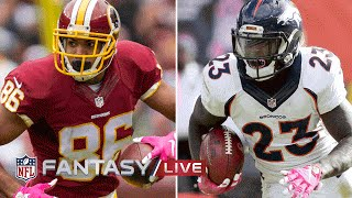 Top Waiver Wire Targets (Week 8) | NFL Fantasy Football Live