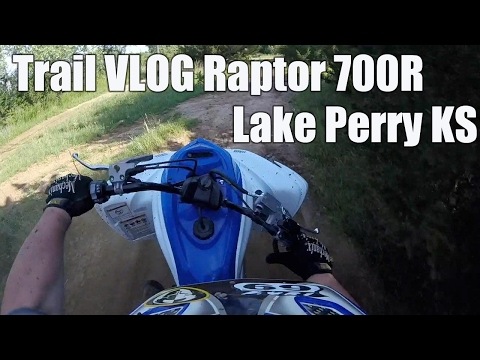Trail Vlog   took the Raptor 700R to the Lake Perry ATV trai