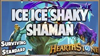 Ice Ice Shaky Shaman   Surviving Standard 65   Hearthstone   Kobolds and Catacombs
