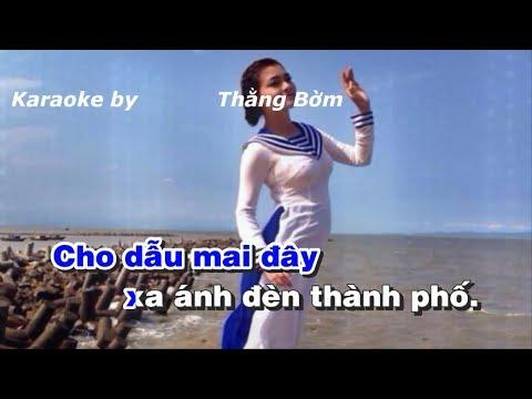 Karaoke Chút Thư Tình Của Người Lính Biển - Sáng tác Phan Huỳnh Điểu