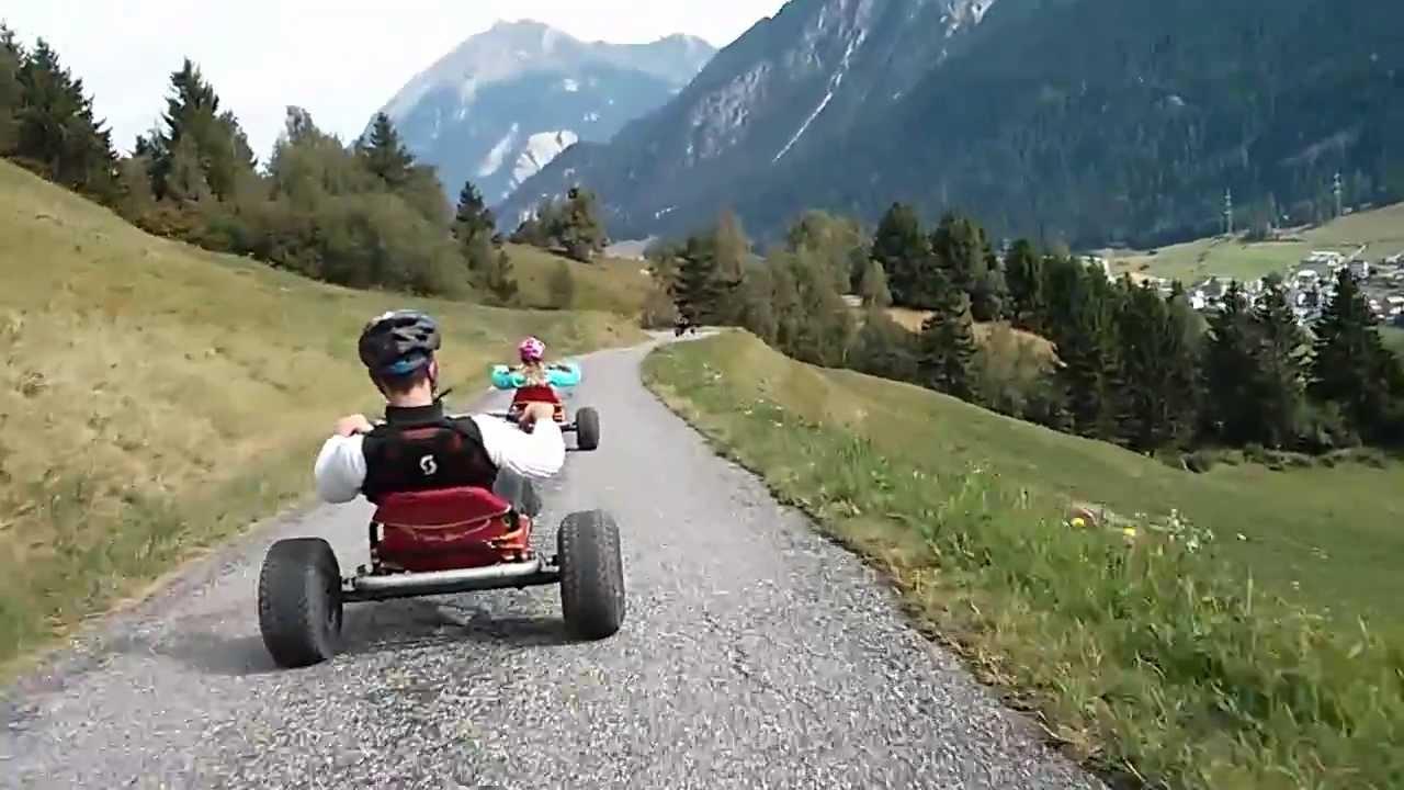 Downhill Race Savognin Mountain Cart Youtube