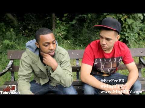 Misjif Interviews Fee Fee - Talks About Rappers Outside London & Pay Attention 2 (www.MisjifTV.com)