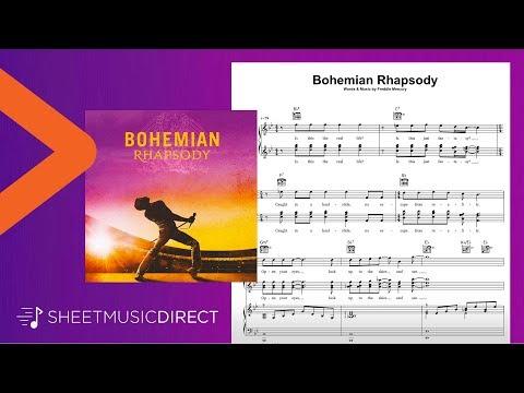Bohemian Rhapsody Sheet Music - Queen - Piano, Vocal & Guitar